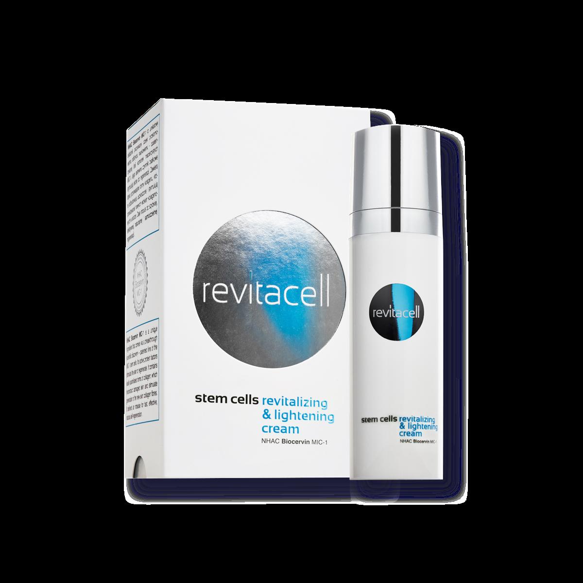Revitalizing & lightening cream